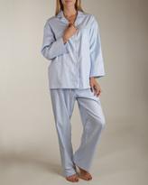 Daniel Hanson Herringbone Pajama Set