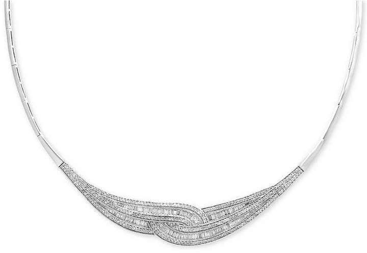 Effy Classique by Diamond Loop Collar Necklace (1-3/4 ct. t.w.) in 14k Gold & White Gold