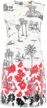 N°21 N21 Printed Mini Dress