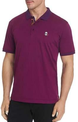 Robert Graham Easton Skull & Rose Classic Fit Polo Shirt