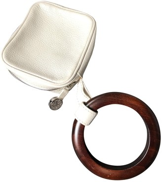 Perrin Paris White Leather Handbags