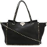 Valentino Garavani Valentino 'Rockstud' trapeze tote - women - Leather/Metal (Other) - One Size