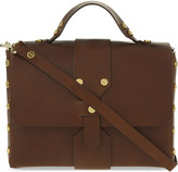 Sandro Abby leather satchel