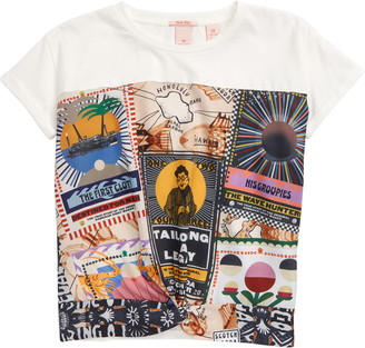 Scotch R'Belle Oversize Short Sleeve T-Shirt