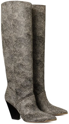 Tory Burch Lila Calf Hair Knee Boot