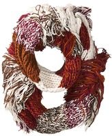 BCBGMAXAZRIA Fringe Party Loop Scarves