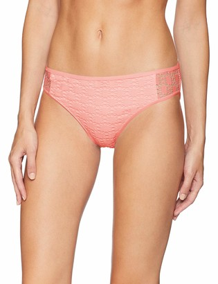 Kenneth Cole Reaction Women's Crochet Hipster Bikini Swimsuit Bottom