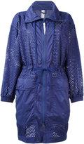 adidas by Stella McCartney Training parka coat - women - Polyester - XS