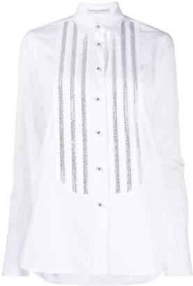 Ermanno Scervino rhinestone-embellished long-sleeved shirt