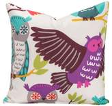 Crayola Owl Always Love You Throw Pillow