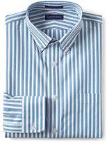 Classic Men's Tall Tailored Fit No Iron Broadcloth Dress Shirt-Beryl Green Small Check
