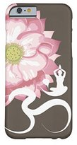 Samsung Galaxy S7 Edge Case,Pink Lotus Flower Yoga White Om Symbol Zen Barely There Phone Case for Samsung Galaxy S7 Edge