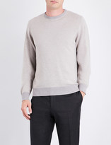 Canali Bird's eye-patterned cashmere jumper