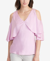 Lauren Ralph Lauren Cutout-Shoulder Blouse