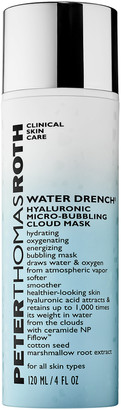 Peter Thomas Roth Water Drench Hyaluronic Micro Bubbling Cloud Mask