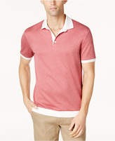 Vince Camuto Men's Slim-Fit Colorblocked Polo
