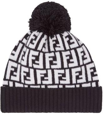 Fendi FF knitted hat