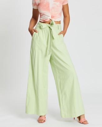 MinkPink Appletini Pants