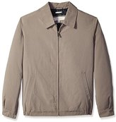 Perry Ellis Men's Microfiber Poly-Filled Golf Jacket