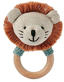 Elegant Baby Character Ring Rattle - Baby