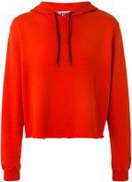 MSGM plain hoodie - men - Cotton - L