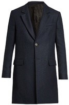 Ami Single-breasted Wool-blend Coat