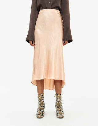 Stelen Kirsti Midi Skirt in Almond