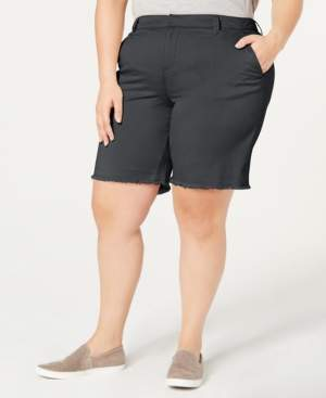 Style&Co. Style & Co Plus Size Released Hem Shorts, Created by Macy's