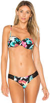 Seafolly Island Vibe Bustier Top in Black