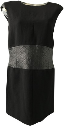 The Kooples Black Leather Dress for Women
