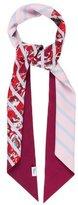 Christian Dior Floral Silk Shawl
