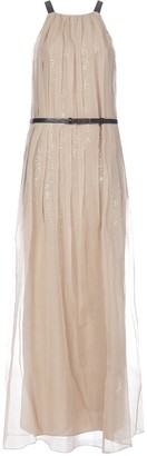 Brunello Cucinelli Pleated Maxi Dress