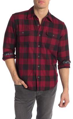Tailor Vintage Buffalo Stretch Perform Stretch Fit Flannel Shirt