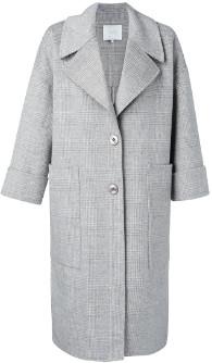 Ya-Ya Oversized Coat Light Grey - S/M