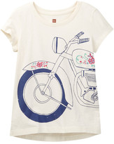 Tea Collection Motocicleta Graphic Tee (Toddler, Little Girls, & Big Girls)