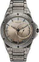 Kenneth Cole New York Men's Antique Finish Stainless Steel Bracelet Watch 46mmx52mm 10030787
