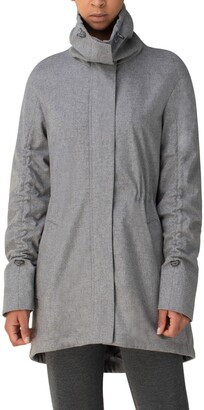 Akris Punto Water Repellent Wool Blend Parka