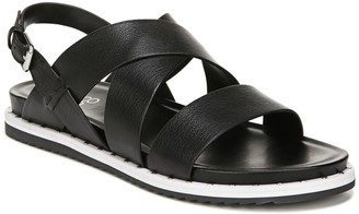 Franco Sarto Strappy Leather Sandals - Delrio