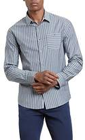 Kenneth Cole Men's Bold Stripe Shirt