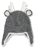 Mud Pie Infant Deer Hat - Grey