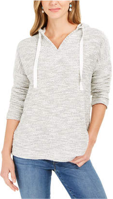 Style&Co. Style & Co Metallic Pullover Hoodie