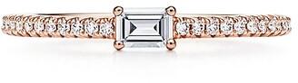 Tiffany & Co. Novo Horizon ring in 18k rose gold with diamonds