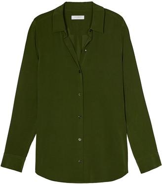 Equipment Essential silk shirt