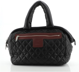 Chanel Coco Cocoon Bowling Bag Quilted Lambskin Medium