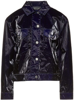 Mr & Mrs Italy Faux Patent-leather Jacket