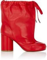 Maison Margiela Women's Leather Drawstring Ankle Boots
