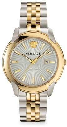 Versace V-Urban Two-Tone Stainless Steel Watch