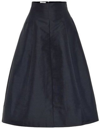 Co A-line midi skirt