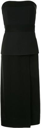 Dion Lee Strapless Midi Dress