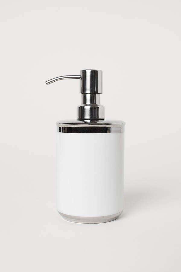 H&M Porcelain Soap Dispenser